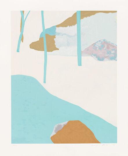 Kenzo Okada, 'Bamboo', 1977