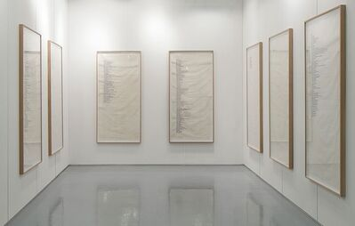 Gudrun Hasle, 'minutes, hours, days, week', 2010