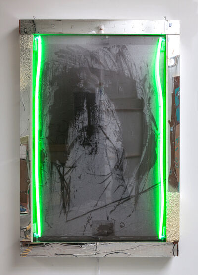 Joris Van de Moortel, 'Self portrait (everything's gone green)', 2017