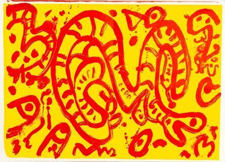 Alan Davie, 'One Cent Life', 1964
