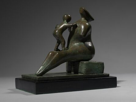 Henry Moore, 'Mother and Child: Armless', 1979