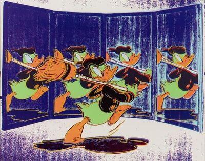 Andy Warhol, 'Anniversary Donald Duck', 1985