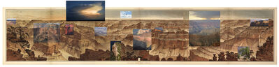 Mark Klett, 'Panorama from Point Sublime after William Holmes, (1882-2007)', 2007