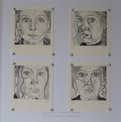 Amanda Ewbank, 'A Miniature Series of Self Portraits and Observations in Lockdown 2021', 2021
