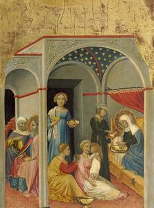 Andrea di Bartolo, 'The Nativity of the Virgin', ca. 1400