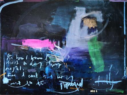 Richard Hearns, 'Indigo (ocean)', 2020