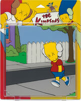KAWS, 'UNTITLED (KIMPSONS), PACKAGE PAINTING SERIES', 2002