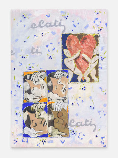 Mikael Lo Presti, 'Blueberrys/Heart/Faces', 2017