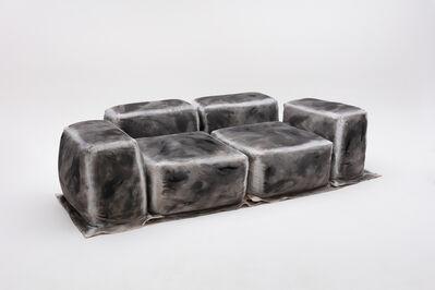Faye Toogood, 'Maquette 288 / Canvas and Foam Sofa, Chalk', 2021