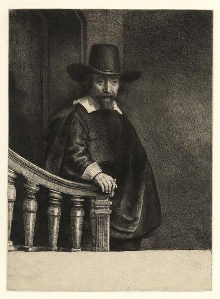 Rembrandt van Rijn, 'Ephraim Bonus, Jewish physician 1647', 1647