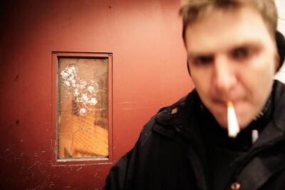 Antonio Bolfo, '.22 Rounds on Glass', 2008