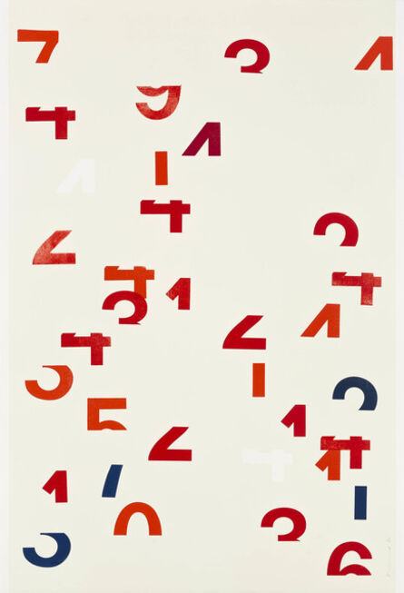 Darren Almond, 'Digital Red', 2014