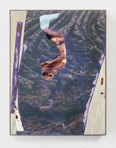 Letha Wilson, 'Utah Volcanoes Black Concrete Bend (Steel)', 2014