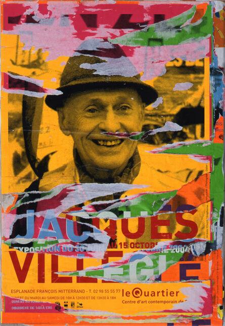 Jacques Villeglé, 'Opération quimpéroise, Le Quartier', 2006