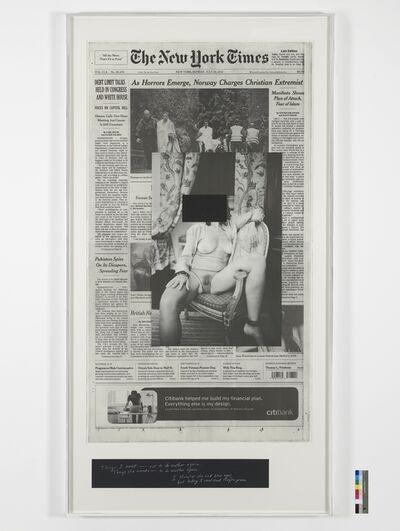 Leigh Ledare, 'An Invitation, Sunday', 2012