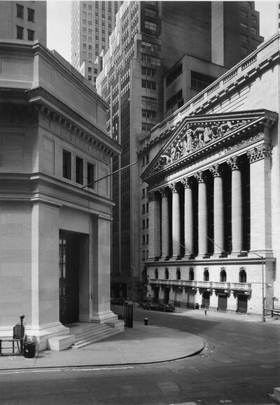 George Tice, 'Wall Street, New York', 1987