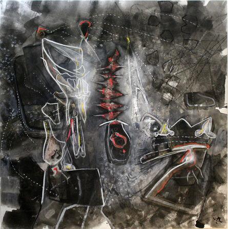 Roberto Matta, 'Chance Noir ', 1987