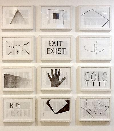 Alberto Borea, 'Exit Exist', 2014