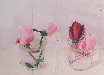 Antonio López García, 'Rosas de invierno II (Winter's Roses II)', 2016