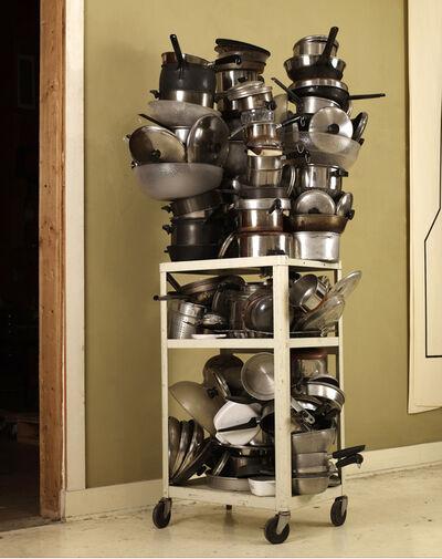 Robert Therrien, 'No title (pots and pans cart)', 1999-2008