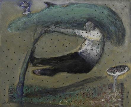 François Anton, 'La récolte des olives'