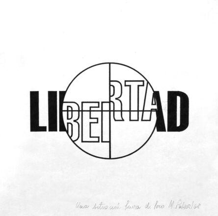 Margarita Paksa, 'Libertad. de la serie Fuera de foco', 1968
