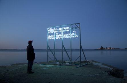Alicia Eggert, 'You Are (on) An Island (New York)', 2015