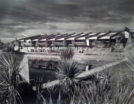 Pedro E. Guerrero, 'Stormy Sky over Drafting Room Taliesin West, Fountain Hills, Arizona (Frank Lloyd Wright, Architect)', 1940
