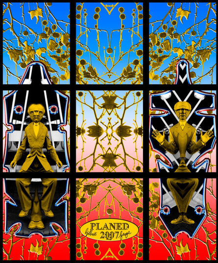Gilbert and George, 'Planed', 2007