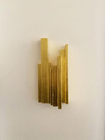 Jonathan Monk, 'Eleven Gold Boetti Spines', 2019