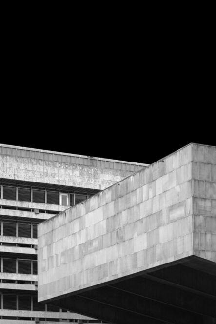 Egle Kisieliute, 'Concrete Evidence 1 (Library and Lecture Theatre 1967-70, Edinburgh University)', 2018