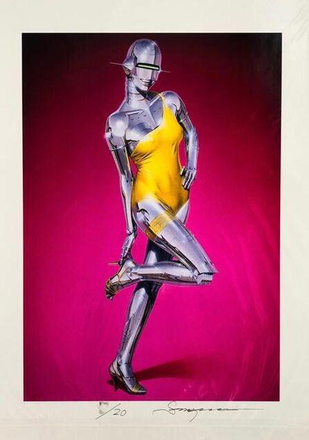 Hajime Sorayama, 'Yellow Dress', 2019