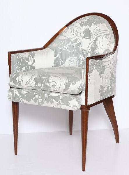 Jacques-Emile Ruhlmann, 'Fauteuil Guinde Early Art Deco Armchair', 1924-1925