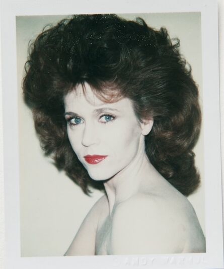 Andy Warhol, 'Andy Warhol, Polaroid Portrait of Jane Fonda', 1982