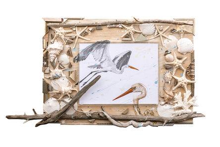 Nall, 'White Egrets', 2015