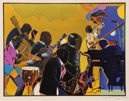 Romare Bearden, 'Out Chorus', 1979-1980