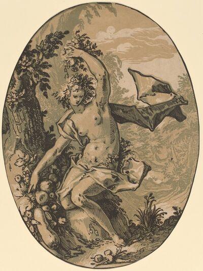 Hendrik Goltzius, 'Persephone', 1588/1590