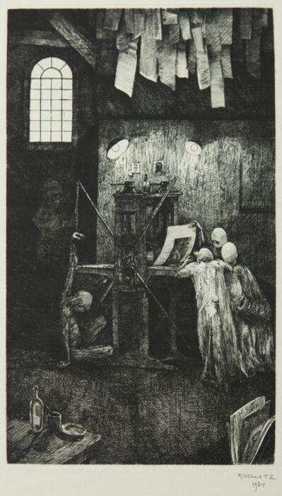 Philippe Mohlitz, 'Artiste et Amateurs', 1970