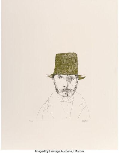 Leonard Baskin, 'Rudolphe Bresdin, from Laus Pictorum: Portraits of Nineteenth Century Artists', c. 1969