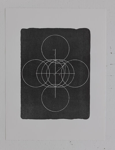 Wu Shanzhuan & Inga Svala Thórsdóttir, 'Seven Circles Little Fat Flesh (Stone Plate)', 2013