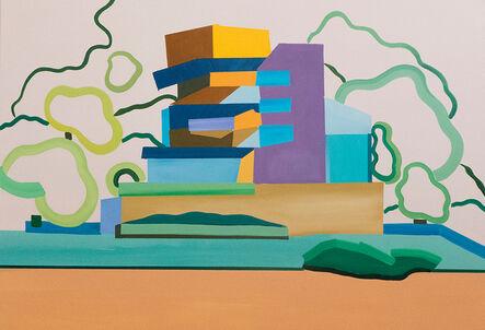 Vasilena Gankovska, 'Composition for tower and trees', 2018