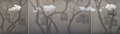 Zhu Yiyong, 'The Realm of the Heart No.4 心境No.4 120X100cm、120x215cm、120X100cm', 2013