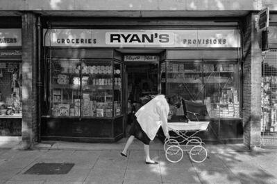 Mike Seaborne (British, born 1954), 'Ryan's grocery store, Castalia Square shopping precinct, London', 1984-printed 2020