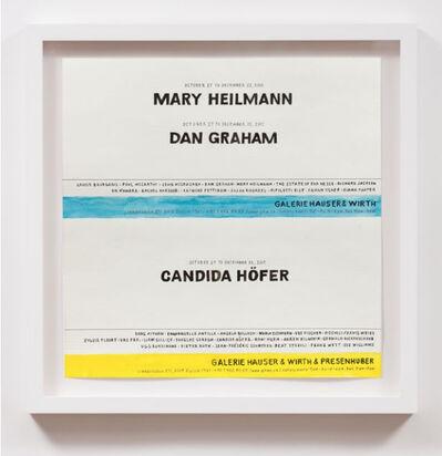 William Powhida, 'Galerie & Hauser Wirth & Presenhuber (2001)', 2017