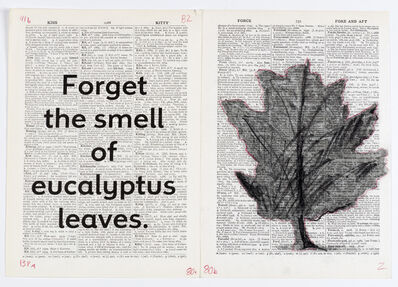 William Kentridge, 'Drawing for Sibyl (Forget the smell of Eucalyptus leaves)', 2019