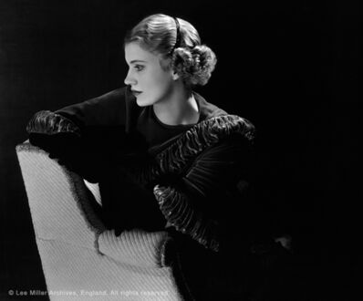 Lee Miller, 'selfportrait', 1932