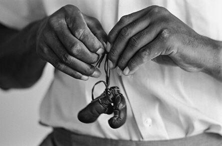 Steve Schapiro, 'Muhammad Ali with Mini Gloves', 1963