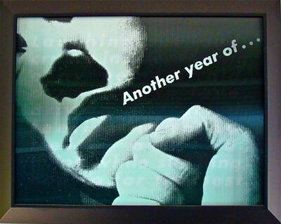 Barbara Kruger, 'Untitled (Another Year)', 2010