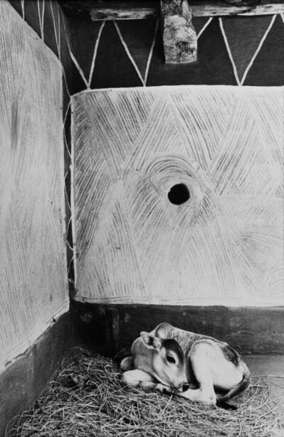 Jyoti Bhatt, 'Interior of a Rajawar tribal house, Madhya Pradesh', 1983