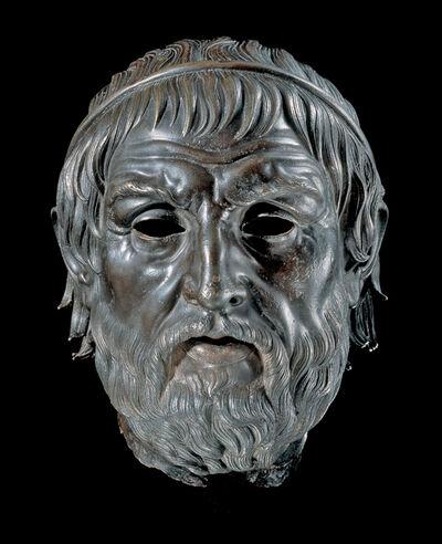 "'Portrait of a Poet, ""The Arundel Head""', 200-1 B.C."